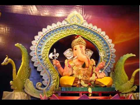 home ganpati decoration easy picuture ideas 2017 2018 youtube