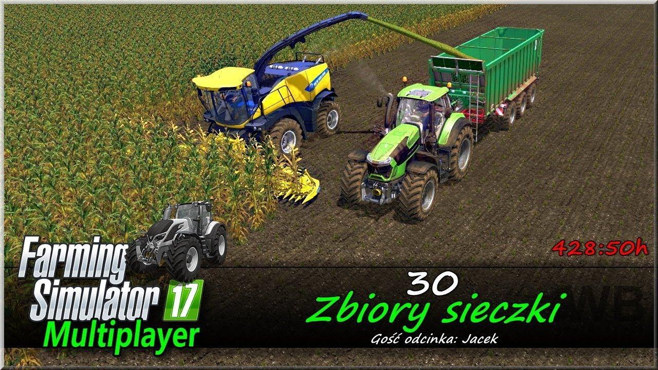 "Farming Simulator 17 – #30 ""Zbiory sieczki"""
