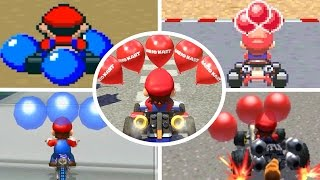 Evolution of Battle Courses in Mario Kart (1992-2017)