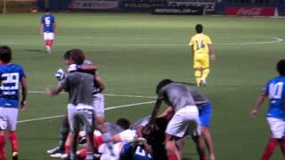 横浜F・マリノス VS モンティディオ山形 キムクナン決勝ゴール
