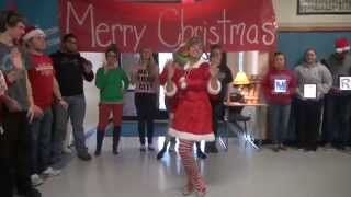 Bridgeport High School (Ohio) - Christmas Video 2014 - Lip Dub