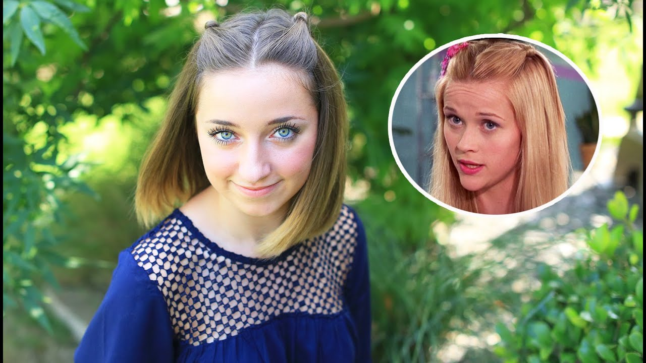 double knot pullback from legally blonde | cute girls hairstyles