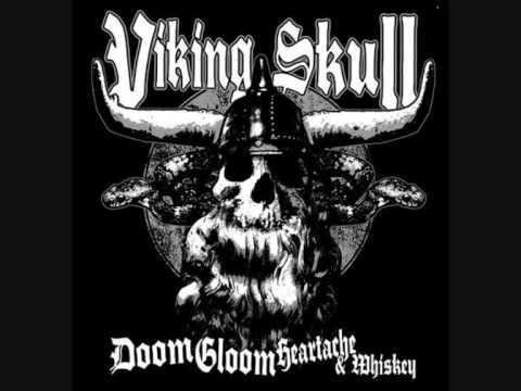 Viking skull-Blackened sunrise