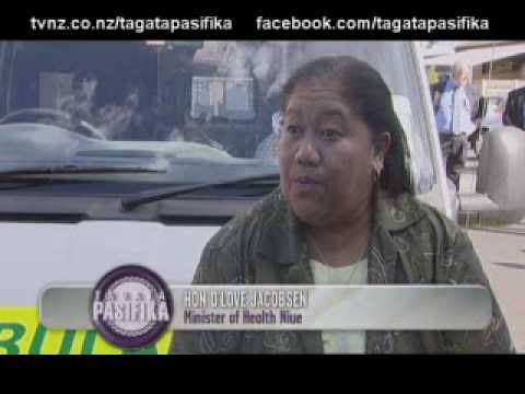 St Johns donates an ambulance to Niue Tagata Pasifika TVNZ 15 April 2010.wmv