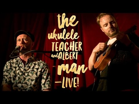 CHEAP SUIT – The Ukulele Teacher and Albert Man – LIVE!
