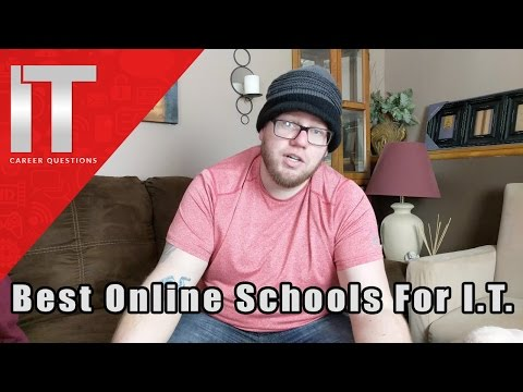 Top Online Schools for I.T. - Information Technology Schools Online