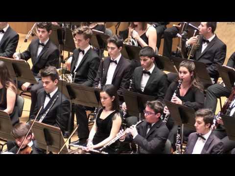Orquesta y Coros del Conservatorio Profesional de Música de Valencia, Febrero 2016