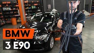 Uzziniet kā atrisināt problēmu ar nomainīt priekšā un aizmugurē Stikla tīrītāja slotiņa BMW: video ceļvedis