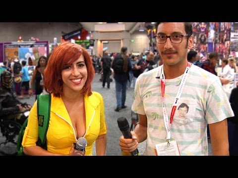 April O'Neil (Uncut: Comic-Con 7)