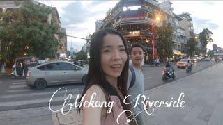 อยู่ยังไงในปอยเปต Life in Poipet Ep154 แม่โขง พนมเปญ Mekong Riverside Phnom Penh Cambodia