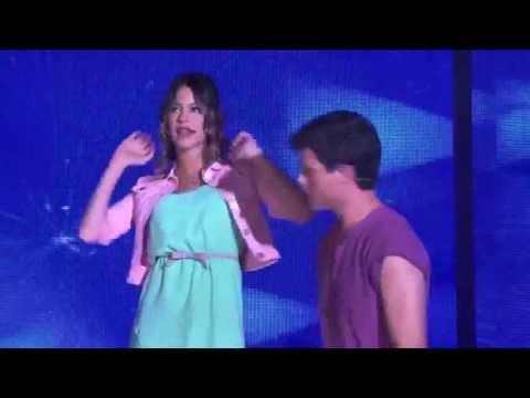 Violetta 2: Il bacio di Violetta e Diego
