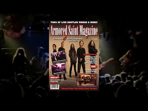 "Armored Saint ""Lessons Not Well Learned"" (DVD)"