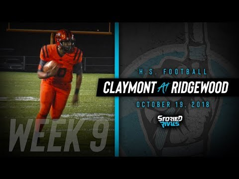 HS Football | Claymont at Ridgewood [10/19/18]