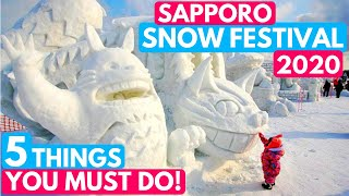 Sapporo Snow Festival 2019 - 5 Things You Must See! 札幌雪祭り