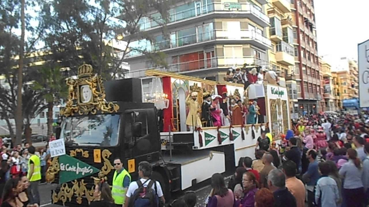 Cabalgata carnaval las palmas gc 2013 carroza el corte ingles youtube - Gran canaria tv com ...