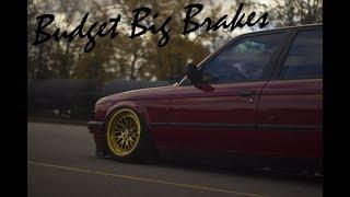 Bmw E30 Fall Update: Garagistic RX7 Budget Big Brake Kit Install (Ep 3)