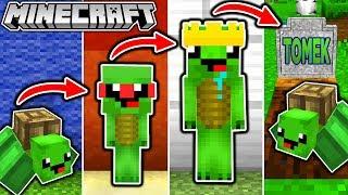 SCHILDKRÖTEN LEBENSZYKLUS in Minecraft - Vom KIND zum KÖNIG