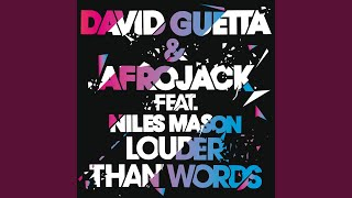 Louder Than Words (Feat Niles Mason; Extended)