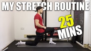 My Stretching Routine - 25 min FULL Lower Body Routine
