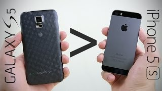 25 Reasons Why Galaxy S5 Is Better Than iPhone 5S
