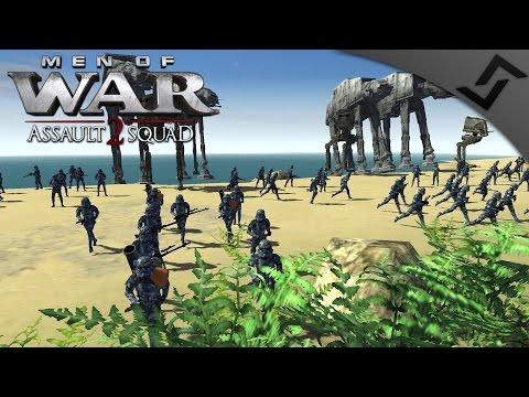 Imperial AT-AT Beach Invasion - Men of War: Assault Squad 2 - Star Wars: Galaxy at War Mod |
