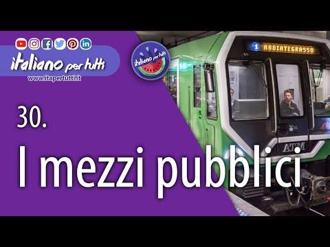 30.  I mezzi pubblici