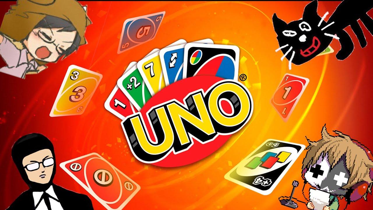 【4人実況】見よ、これが史上最高のカードゲーム『 UNO 』