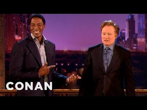 Scottie Pippen Disapproves Of Conan