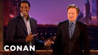 Scottie Pippen Disapproves Of Conan's Jacket  - CONAN on TBS