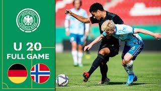 Germany vs Norway 1 1 Full Game U 20 Friendly