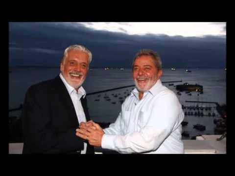 Conversa grampeada entre Lula e Jaques Wagner