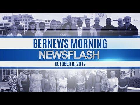 Bernews Morning Newsflash For Friday, October 6, 2017