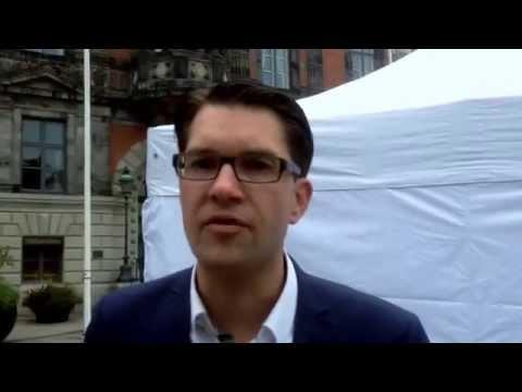 Jimmie Åkesson (SD) om Ekots avslöjande om att han spelat för stora pengar på nätcasino