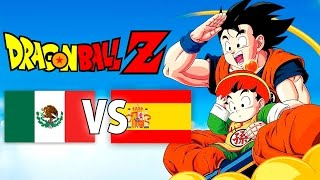 Doblaje Latino VS Español - Dragon Ball Z Opening/Chala Hea...