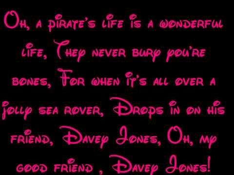 A Pirate's Life - Peter Pan Lyrics HD