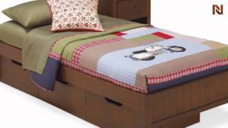 Lea 906-913 3 Drawer Underbed Storage Boxes-rta From Dillon