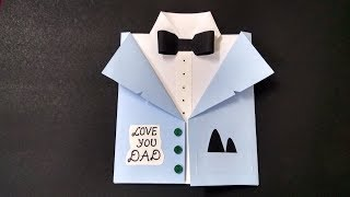 Easy Handmade Card Idea for Father's Day | complete tutorial