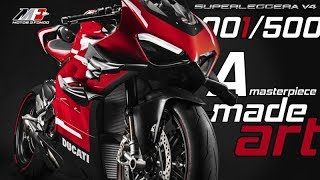 Ducati Panigale Superleggera - Masterpiece of engineering made Art