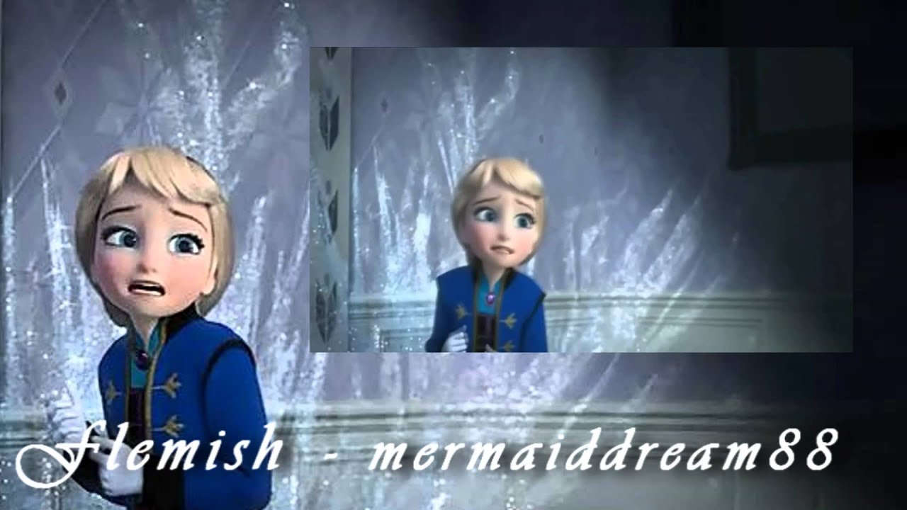 Frozen Young Elsa Quot Don T Touch Me Quot One Line