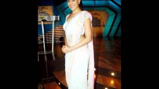 Hot Saree Wearing Bollywood Actress Genelia D