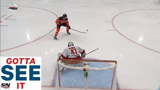 GOTTA SEE IT: Connor McDavid Blows Chance By Whiffing On Penalty Shot