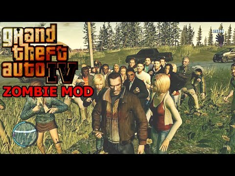 Grand Theft Auto: 4 - Zombie Mod - Long Night in Criminal Russia RAGE 1.3.1.