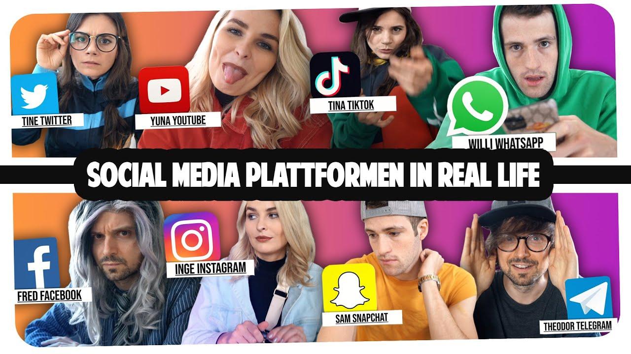 Social Media Plattformen in Real Life | Joyce