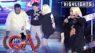 Vice Ganda screams out of fear | It's Showtime Mr Q and A