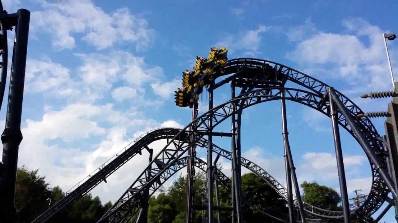 The Smiler Goes Wrong Breakdown At The Top Alton Towers