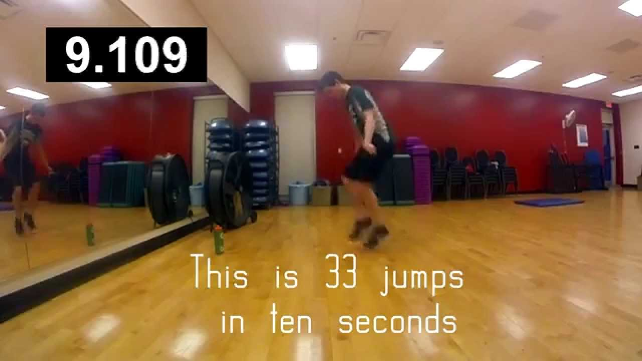 How fast to jump