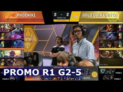 Phoenix1 vs Gold Coin United Game 5 | Promotion/Relegation S7 NA LCS Summer 2017 | P1 vs GCU G5