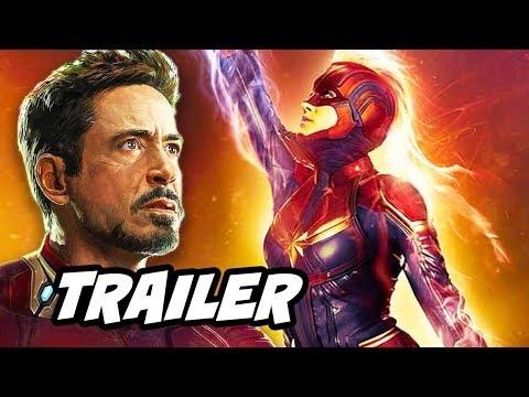 Captain Marvel Trailer 3 - Avengers Easter Eggs Breakdown
