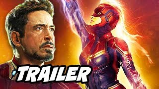 Captain Marvel Trailer 3 - Avengers Easter Eggs Breakdown