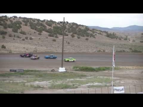 tracy merlen #13 mini stock heat 8-17-13 @ desert thunder raceway